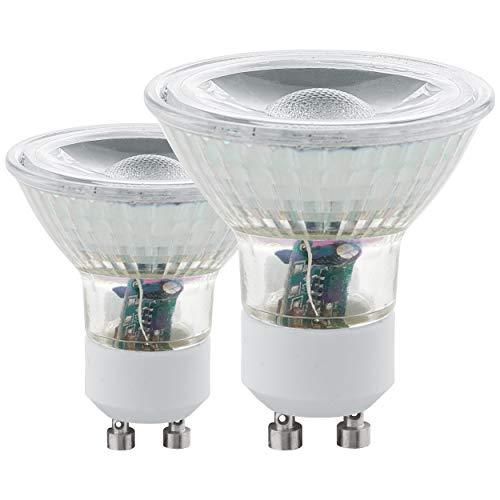 Eglo 11526–Juego de 2bombillas LED GU10COB 4000 K–5W–Luz de día–400lm