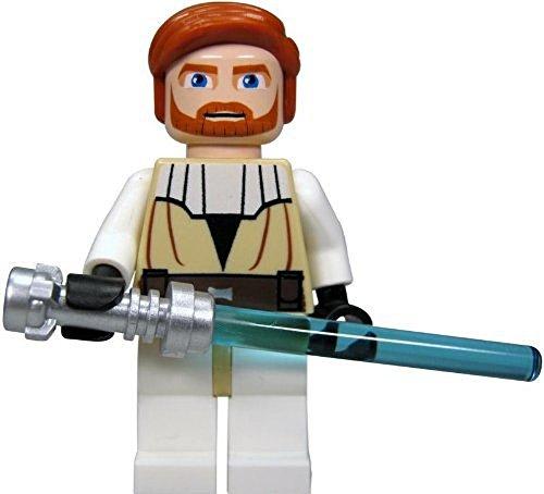 LEGO Star Wars Minifigure - Obi-Wan Kenobi with Lightaber (Clone Wars)