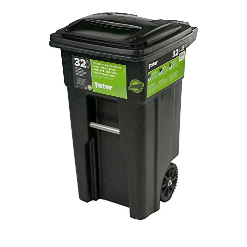 32 Gal. Green Trash Sealed Stop Bar Journals Can...