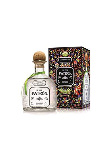 Tequila Patrón Silver con caja especial decorada - 700 ml