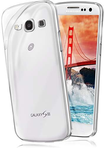 moex Aero Case kompatibel mit Samsung Galaxy S3 / S3 Neo - Hülle aus Silikon, komplett transparent, Klarsicht Handy Schutzhülle Ultra dünn, Handyhülle durchsichtig einfarbig, Klar
