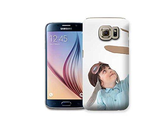 Personaliza tu carcasa - Carcasa Personalizada 3D para Samsung Galaxy S7 Edge - Diséñala con Fotos y Texto
