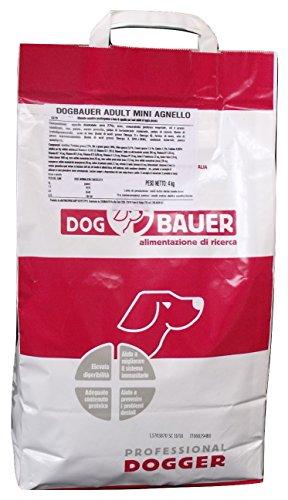DOG BAUER alimentazione di ricerca Mini Adult - Agnello, Riso e Patate (4 kg) Crocchette monoproteiche per Cani
