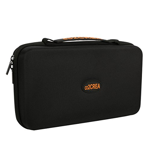 "co2CREA (TM Universal Hard Shell EVA Carrying Storage Travel Case Bag for Powerbank HDD/Electronics/Accessories Extra Large (10.2""x""6.4x3.2 inch)"