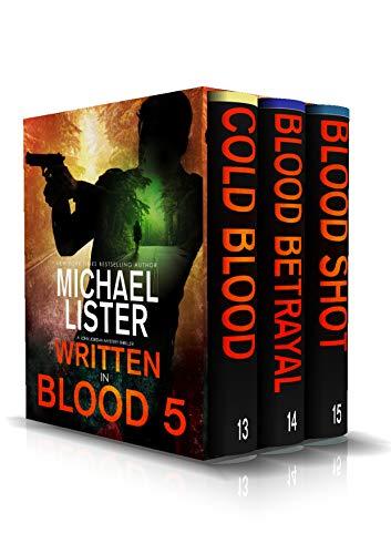 Written in Blood Volume 5: Cold Blood, Blood Betrayal, Blood Shot (John Jordan Mysteries Collections)