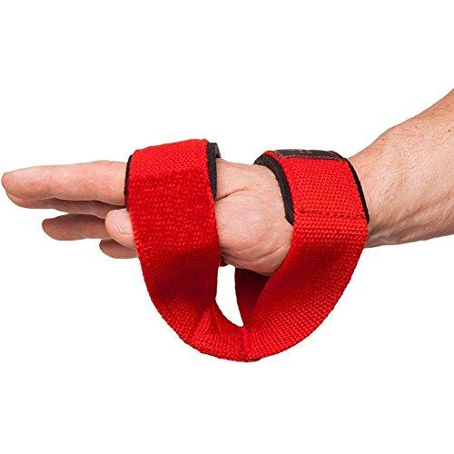 C.P. Sports Zughilfen Ruck Zuck Schlaufen – Figure 8 Straps 8er Schlaufen, Double Loop, Lifting Strap - 5