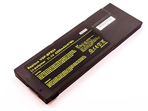 MobiloTec Akku kompatibel mit Sony Vaio SVS151A12M, Notebook/Netbook/Tablet Li-Ion Batterie