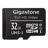 Gigastone Scheda di Memoria Micro SDHC da 32 GB con Adattatore SD, A1 U1...