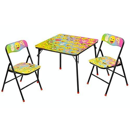 Idea Nuova Emoji 3 Piece Table and Chair Set