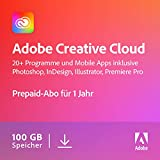 Adobe Creative Cloud All Apps | 1 Jahr | PC/Mac | Download