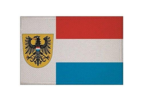 U24 Aufnäher Heilbronn Fahne Flagge Aufbügler Patch 9 x 6 cm