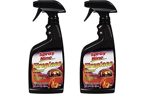 Spray Nine 15022 Fireplace Cleaner, 22 oz. 2 Pack