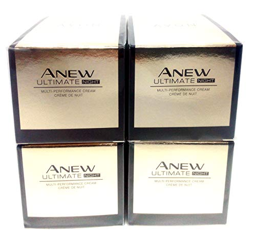 4 x AVON Anew Ultimate Multi-Performance Nachtcreme 50ml SET !