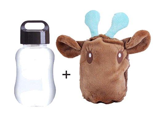 les mains au chaud de la Coupe Portable Coupe Cartoon Coupe, brun vache