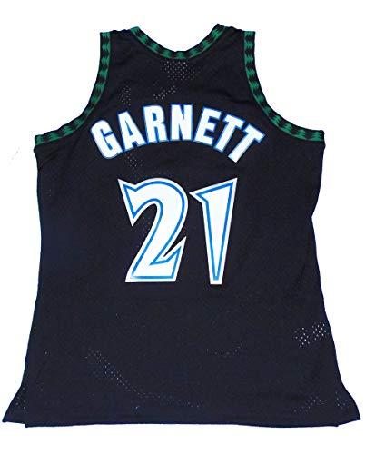 Mitchell & Ness Kevin Garnett Minnesota Timberwolves Swingman Throwback 1997-1998 Replica Jersey (Medium)