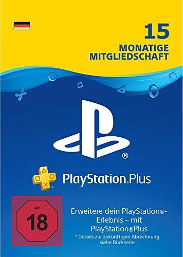 Prime Day Angebot: 15 Monate PlayStation Plus Mitgliedschaft | PS4 Download Code - deutsches Konto
