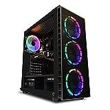 Ordinateur de Bureau AWD-IT Gaming - Processeur AMD Ryzen 5 2600 3.9 GHz • Radeon RX 570 8 Go •...