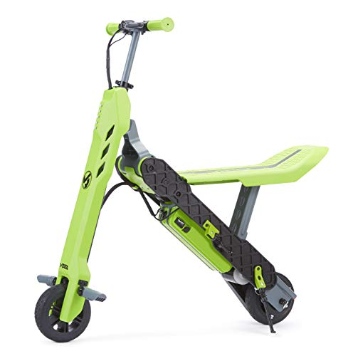 VIRO Rides Vega 2-in-1 Transforming Electric Scooter & Mini Bike, Green