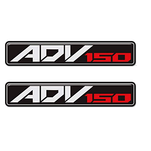 Qwjdsb For Honda ADV 150 ADV150, Motorcycle Decals Stickers Emblem Badge Decal Raised Tank Pad Emblem Logo Adventure ADV 150 2019 2020