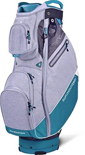 Sun Mountain Golf 2019 Sync Women Cart Bag - Storm-Black-Ocean