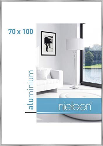 Nielsen Aluminium Bilderrahmen C2, 70x100 cm, Silber