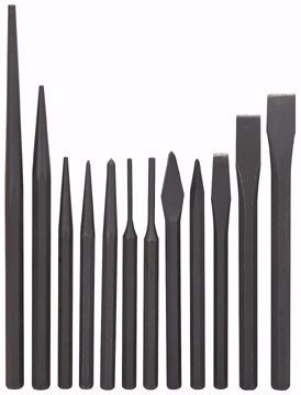 Pittsburgh 12 Piece Punch and Chisel Set