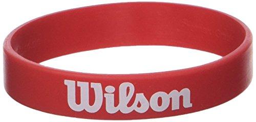 Wilson V1204 Brazalete-Unisex, Rojo, NS