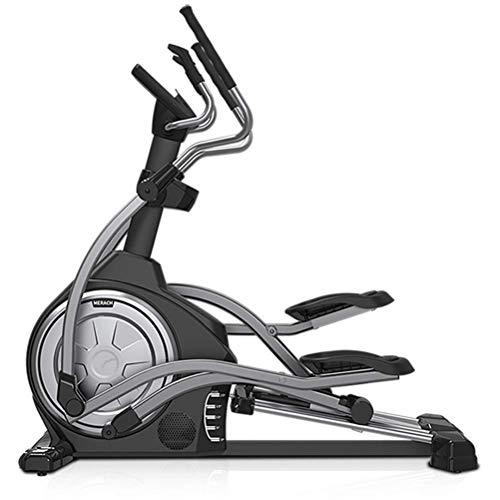 Funda de almohada Máquina elíptica controlada magnética, paso a paso, caminante espacial, equipo de bicicleta de ejercicio interior, Aleación de cuatro vías, control electromagnético de 16 velocidades