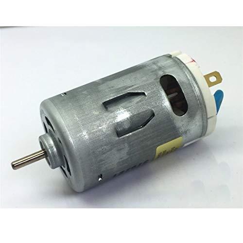 Wusfeng LHongBin-Motor DC 550 Motor de Cepillo de Carbono con Ventilador de refrigeración, 14300 RPM, capacitancia DC 220V 10W Micro Micro Motor de Alta Velocidad, Amplia Gama de Aplicaciones