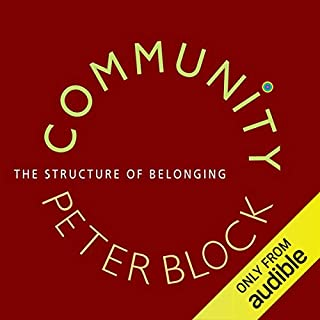 Community audiobook cover art