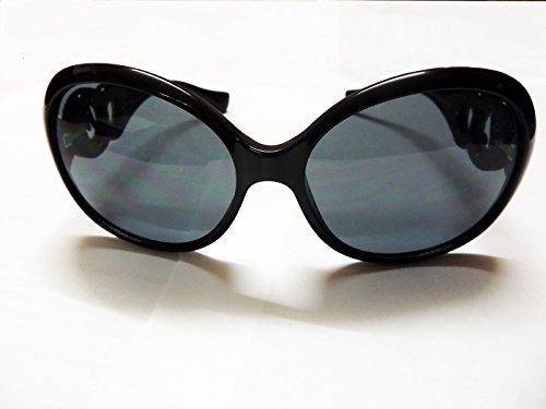 Sonnen-Brille 4499 Damen Sonnenbrille RockaB. 50er Jahre Design Retro Style Glasses einzigartig CE UV400 (black)