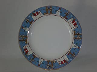 Debbie Mumm Snowman Dinner Plates 4 - 11 Plates by Sakura