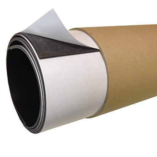610mm x 365mm [aprox. A2] Autoadhesivo magnético Sábana 1.5mm Extra Grueso Resistente Flexible ROLLOS IMÁN the Imán Nevera TIENDA