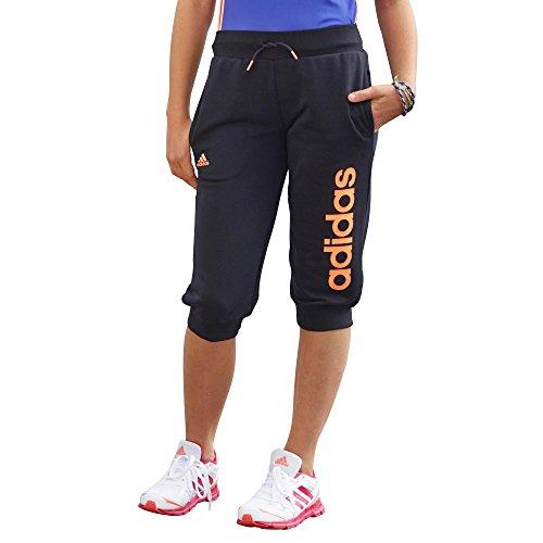 Adidas - Pantalons et Collants - Pantalon 3/4 Essentials Linear - Noir - 7-8A