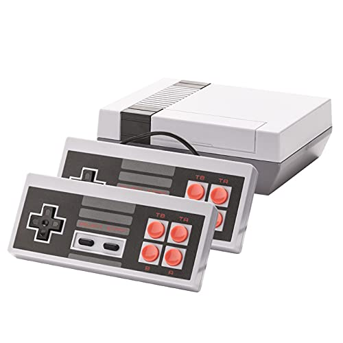 Classic Game Console, Handheld Mini Retro Gaming Console with Built in 620 Video Classic Games and 2x4 Classic Edition Controller Av Output Video Games, Ideal Gift for Children and Adults