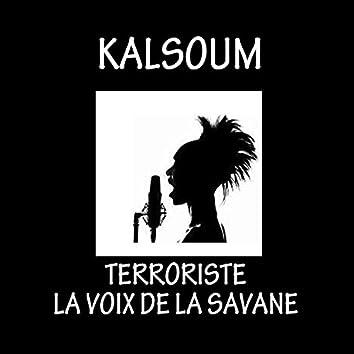 Terroriste la voix de la savane