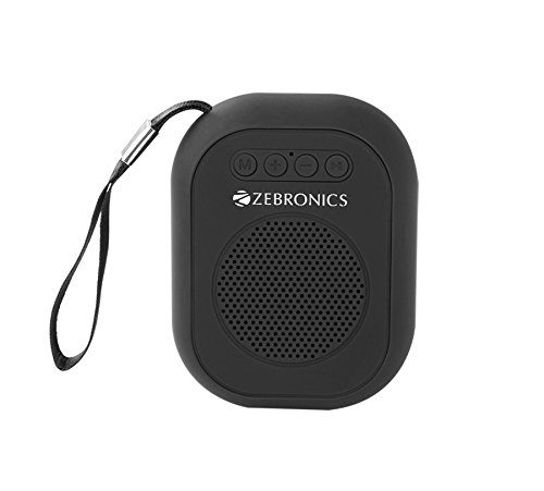 Zebronics Portable Bluetooth Speaker with Micro SD Card,...