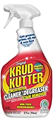 One cleaner with many uses: krud kutter original is a cleaner, degreaser and stain remover that safely and easily removes the toughest stains and substances from many surfaces Concentrated, commercial strength biodegradable formula is non-toxic, envi...