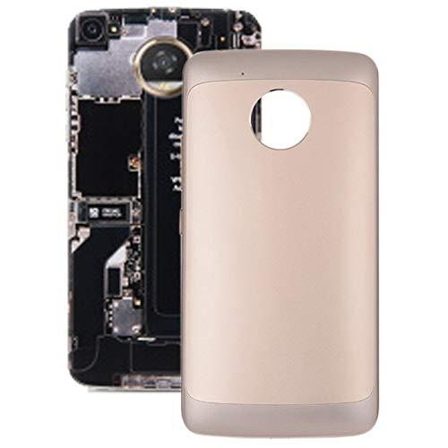 un known Enviar Después de la Prueba Tapa Trasera de Batería for Motorola Moto G5 XT1672 XT1676 Accesorio (Color : Gold)