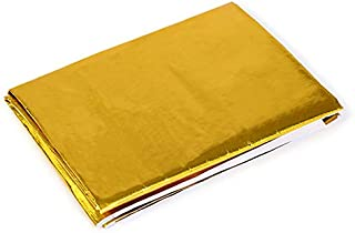 """Mishimoto MMHP-GRB-2424 Gold Reflective Barrier w/Adhesive, 24"""" x 24"""""""
