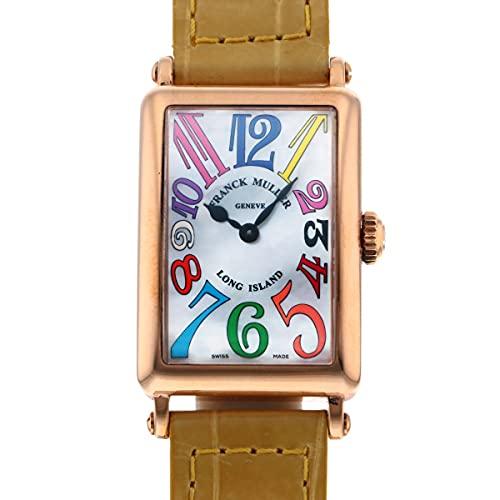 フランク・ミュラー FRANCK MULLER ロングアイランド カラードリーム 902QZ COL DRM MOP ホワイト文字盤 中古 腕時計 レディース (W167503) [並行輸入品]