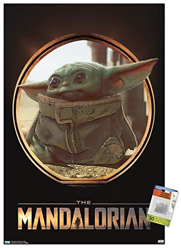 Póster de Star Wars: The Mandalorian - The Child (Baby Yoda)