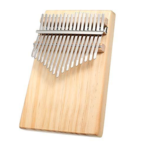 Fesjoy daumenklavier kinder kalimba 17 marimba instrument musikinstrumente set musikalisches geschenk 17 Tasten Mbira Pocket Musikinstrument Finger Piano Kalimba Portable Thumb Piano