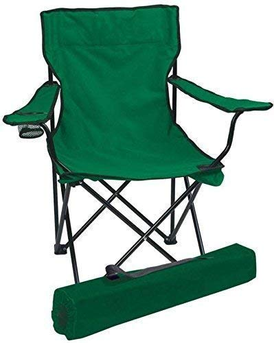 Generic Big Chair Folding Chair - Portable Foldable Camping Chair for Fishing Beach, Travelling, Lawn, Patio Outdoor Collapsible Chairs Multicolor (1).