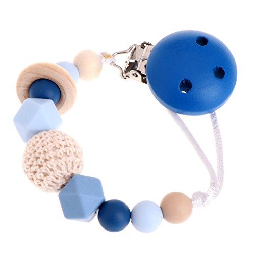 Manyo Baby Silikon Kinderkrankheiten Dummy Schnuller Clip Bead Säugling Schnuller Nippel Strap Chain