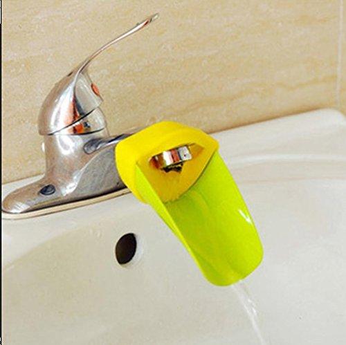 WYFC Petits immigrés robinet Extender tout-petits bébé lavage SIDA enfants main lavage Robinet lavabo évier (couleurs aléatoires)