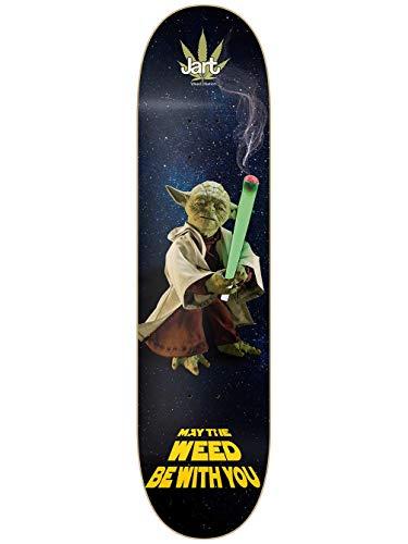 "Jart Weed Nation Yoda 8.0\"" LC Skateboard Deck"
