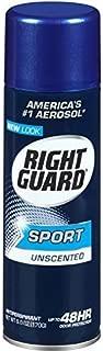 Right Guard Sport Unscented Aerosol Antiperspirant Spray 6 oz (Pack of 18)