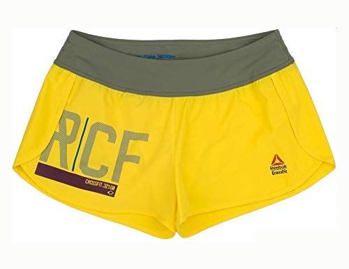 RCF Reebook KNW Graphic Short-Pantaloncini da Donna