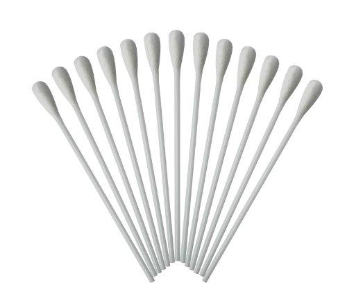 Medizinische Wattestäbchen mit großem Kopf Watteträger PE-Stab 15cm 1000 Stück hygienisch verpackt
